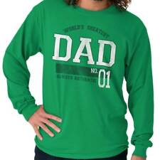 World Greatest Dad Fathers Day Funny Shirt Humorous Gift Ideas Long Sleeve Tee