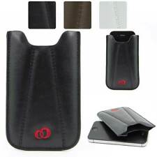 Synthetic Leather Slimline Protective Pouch Case for Smart-Phones EIP4BQ-3