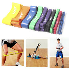 Exercise Resistance Bands Loop Crossfit Strength Weight Training Fitness Yoga