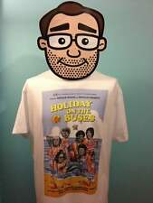 On The Buses - Holiday On The Buses T-Shirt (Blakey / Reg Varney) - White Shirt