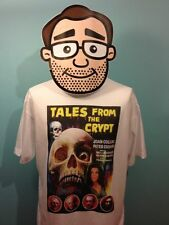 Tales From The Crypt - Peter Cushing / Joan Collins - Cult Horror Film T-Shirt