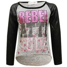 NEW!!!  MINX SPARKLING REBEL ATTITUDE GIRLS TOP 3/4-13 YRS AVAILABLE