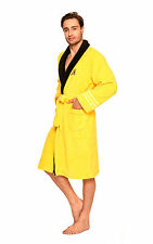 Star Trek Adult Captain Kirk Scotty Spock Peignoir Fleece Bathrobe Cosplay