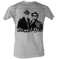 The Blues Brothers T-shirt Movie Mission From God Adult White Shirt