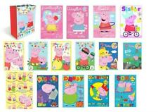 PEPPA PIG & GEORGE Gift Wrap, Bags & Birthday Cards Lots of Choice In 1 Listing