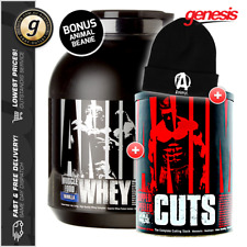 ANIMAL WHEY Protein + ANIMAL CUTS Thermo by Universal Nutrition + FREE GIFT!