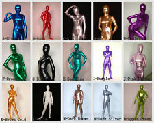 Full Body Lycra Latex Catsuit Adult Size Bodysuit Zentai Suit For Party Costume