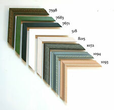Custom Wood Picture Frames - Assorted Series 3 - Any Size! Diplomas & Photos!