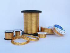 GOLD COLOURED COPPER WIRE 0.4mm - 1.25mm NON TARNISHING HIGHEST QUALITY 1kg