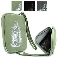 Digital Camera Protective Zipper Canvas Pouch Case FSLMRV-4