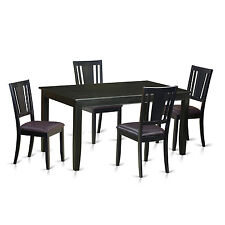 5 PC dining table set-Dining Table and 4 chairs for dining room chairs