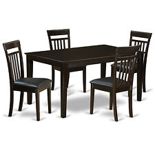 5 PC Formal dining room set - dining table Top and 4 Dining room Chairs