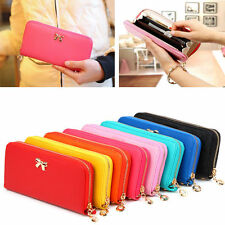 Lady Women Long Card Holder Case Wallet Leather Clutch Purse Handbag Fashion Bag