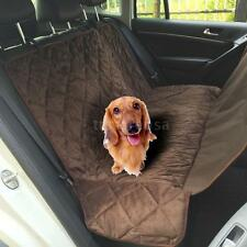 Suv Truck Car Vehicle Back Seat Cover For Dog Pet Water-proof Hammock Mat K4X1