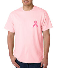 Breast Cancer Awareness Ribbon T-Shirt All Sizes & Colors (TE04)