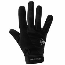Dunlop Cycling Gloves Adults Black Cycle BMX Mountain Bike Mitts