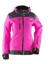 NEW 2015 YAMAHA WOMENS DIVAS LACE COLLECTION SNOWMOBILE JACKET PINK