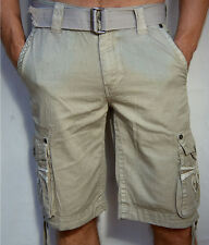 Affliction Black Premium Men's - TREASURE HUNTER - Cargo Shorts - NEW - Sand