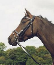 synthetic bridle biothane all colours/ sizes matching reins PLAS EQUESTRIAN