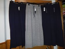 Maxi Skirts Gap size  MD,SM,XS Dark Navy Blue and Gray navy striped NWT