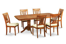 7 Piece dining room set-Dining table and 6 dining room chairs
