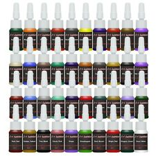Tattoo Ink Tattoo Supplies 40 Color inks 5ml/bottle Complete Set Supply