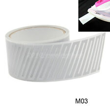 """Safety Silver Reflective Tape Fabric Iron On Material Heat Transfer 2"""" M03"""
