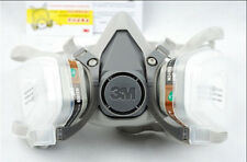 NEW 3M 6200 6001 7pcs Suit Respirator Painting Spraying Face Gas Mask 5N11 501