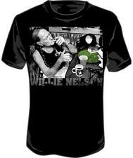 Willie Nelson Legalize It Smoking New Licensed Adult T-Shirt Tee S M L XL XXL