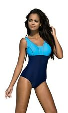 Women's swimming costume one piece swimsuit swimwear flat seams