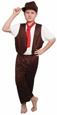 SALE Kids Poor Victorian Urchin Boys Book Week Fancy Dress Childs Costume Outfit