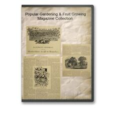 Popular Gardening & Fruit Growing Magazine Collection on CD ROM