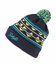 Protest Mens Pylo Beanie in Night Blue and Smoke