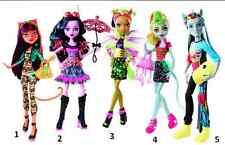 MONSTER HIGH FREAKY FUSION DOLL 13 WISHES VINYLS LOVE HAUNTED SPIRIT GHOOL NEW!!