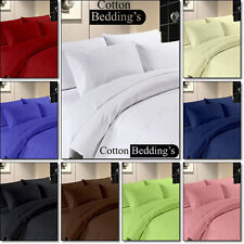 800 1000 TC Egyptian Cotton Combo Hotel Bedding's Euro Double IKEA Size in Solid
