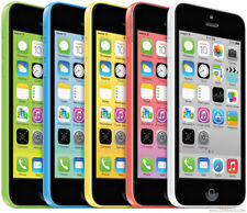 "4.0"" Apple iPhone 5C 16GB/32GB iOS 8MP GSM AT&T Unlocked Dual-core Smartphone"