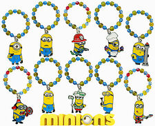 Minions, Despicable me, wine glass charms twin pack 10 charms to choose from!
