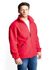 Medium Weight Work Wear Embroidered Fleece Jacket. YOUR FULL LOGO INCLUDED!
