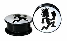 Hatchet Man Screw-on Stash Box Plugs / Gauges Acrylic (2 Pieces)