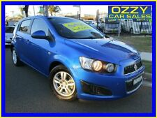 2014 Holden Barina TM MY14 CD Blue Automatic 6sp A Hatchback