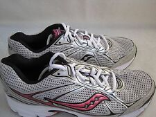 New! Women's  Saucony Grid Cohesion 7 Shoes Style 15181-16 GrayPink 18K