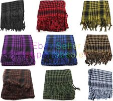 Army Shemagh Keffiyeh Arab Scarf US Survival Utility Airsoft Tactical Ski Gear