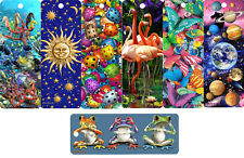 "Beautiful 3D Bookmarks 6"" x 2.1/4"
