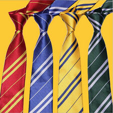 Harry Potter Tie Ravenclaw Hufflepuff Gryffindor Slytherin Costume Necktie TS