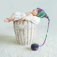Boy Girl Child Newborn Hats Photography Props Handmade Crochet Knitted Hats Warm