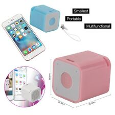Mini Portable Stereo Wireless Bluetooth Handsfree Speaker for iPhone Samsung JDZ