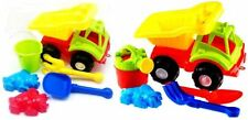 Dump Truck Beach Sand Mould Set Gift Sand Toy Water Fun Play Garden Sandpit Bath