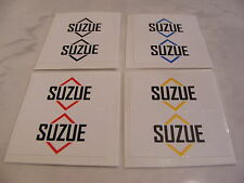 Suzue Stickers Decals Old School BMX For Hubs