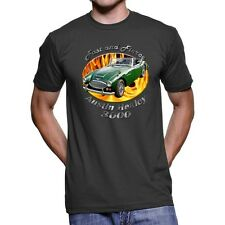 Austin Healey 3000 Fast And Fierce Men`s Dark T-Shirt