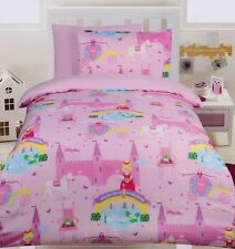 Happy Kids Fairy Tale Quilt Cover Bed Set - Single or Double Bed
